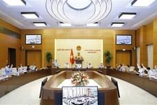 国会常务委员会第二次会议:审议2022年国家财政预算经常性支出分配原则、标准和额度