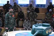 越南人民军坦克参赛队将采取红色涂装的坦克参加比赛