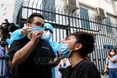 越南新冠疫情:胡志明市引导人们在家自行采集样本