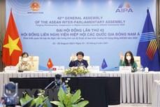 第42届东盟议会联盟大会: 促进疫情后的妇女经济赋权