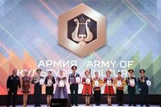 """2021年国际军事比赛: 越南""""创作竞演""""项目参赛队获得许多奖项"""