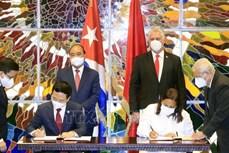 越南与古巴加强信息与传媒合作关系