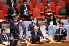 越南国家主席阮春福:联合国应建立海平面上升多维影响主数据库