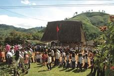 Người Xê-đăng gìn giữ bản sắc văn hóa