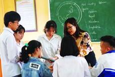 Cô giáo Mường với tiết học tiếng Anh xuyên biên giới