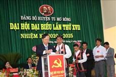 Tiến tới Đại hội XIII của Đảng: Đại hội Đảng bộ huyện Tu Mơ Rông (Kon Tum) bầu trực tiếp Bí thư