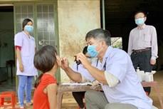 Triển khai chiến dịch tiêm chủng trên diện rộng để ngăn chặn bệnh bạch hầu