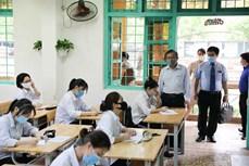 Hà Nội: Đảm bảo các điều kiện phòng, chống dịch COVID-19 tại 143 điểm thi tốt nghiệp Trung học phổ thông