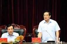 Đoàn giám sát của Hội đồng Dân tộc của Quốc hội làm việc tại tỉnh Điện Biên