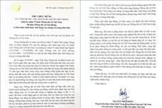 Tổng Bí thư, Chủ tịch nước Nguyễn Phú Trọng: TTXVN tiếp tục khẳng định vai trò là cơ quan thông tin chính thống, tin cậy của Đảng, Nhà nước