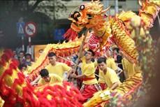 Kỷ niệm 1010 năm Thăng Long – Hà Nội: Rộn ràng Liên hoan múa Rồng tại không gian đi bộ hồ Hoàn Kiếm