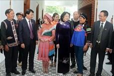 Phó Chủ tịch nước Đặng Thị Ngọc Thịnh: Lào Cai cần đổi mới thi đua phù hợp với văn hóa của đồng bào