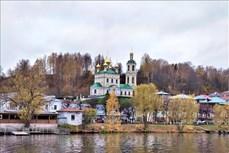 Thủ đô phong cảnh của danh họa Issac Levitan trong mùa thu vàng nước Nga