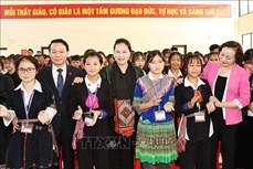 Chủ tịch Quốc hội Nguyễn Thị Kim Ngân làm việc với Ban Chấp hành Đảng bộ tỉnh Yên Bái