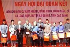 Bộ trưởng Bộ Công an Tô Lâm dự Ngày hội Đại đoàn kết toàn dân tộc với đồng bào vùng cao tỉnh Cao Bằng