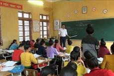 Tạo động lực cho giáo viên người dân tộc thiểu số tại vùng đặc biệt khó khăn
