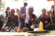 Chiếc gùi trong văn hóa của người Jrai
