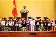 Chủ tịch Quốc hội Nguyễn Thị Kim Ngân gặp mặt Đoàn đại biểu dự Đại hội Biểu dương các mô hình học tập toàn quốc