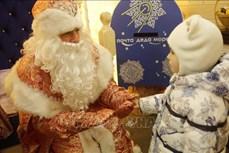 Trẻ em Nga vui đón Noel cùng ông già Tuyết