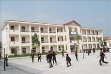 Thái Nguyên đầu tư xây dựng, mở rộng quy mô các trường phổ thông dân tộc nội trú