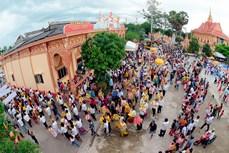 Sắc màu Lễ Kathina của người Khmer Nam Bộ