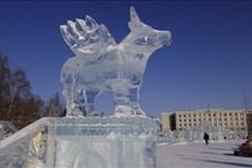 Festival điêu khắc băng - nét văn hóa đặc trưng của Cộng hòa Udmurtia, Liên bang Nga