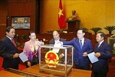 Kỳ họp thứ 11, Quốc hội khóa XIV: Tiến hành bầu một số Phó Chủ tịch Quốc hội