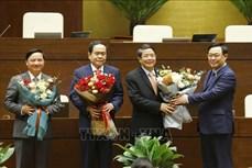 Kỳ họp thứ 11, Quốc hội khóa XIV: Bầu 3 Phó Chủ tịch Quốc hội