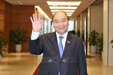 Kỳ họp thứ 11, Quốc hội khóa XIV: Chủ tịch nước trình Quốc hội miễn nhiệm Thủ tướng Chính phủ