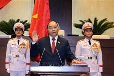 Kỳ họp thứ 11, Quốc hội XIV:  Tiểu sử tóm tắt của Chủ tịch nước Nguyễn Xuân Phúc