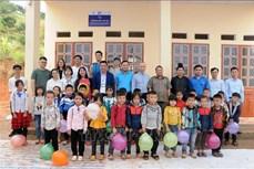 """Chương trình """"Trường đẹp cho em"""" ở vùng cao Sơn La"""