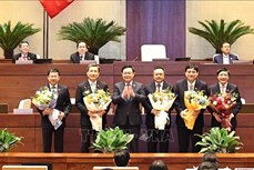 Kỳ họp thứ 11, Quốc hội khóa XIV: Bầu Chủ nhiệm một số Ủy ban của Quốc hội, Tổng Thư ký Quốc hội, Tổng Kiểm toán Nhà nước