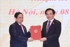 Bộ trưởng, Chủ nhiệm Văn phòng Chính phủ kiêm giữ chức Chánh Văn phòng Ban Cán sự đảng Chính phủ