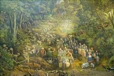 Bức tranh Panorama tái hiện Chiến dịch Điện Biên Phủ