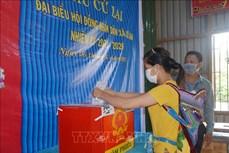 Đắk Lắk tổ chức bầu cử lại đại biểu Hội đồng nhân dân xã tại ba đơn vị bầu cử