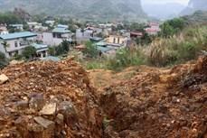 Hòa Bình: 41 hộ dân vùng nguy cơ sạt lở cao được sơ tán đến nơi an toàn