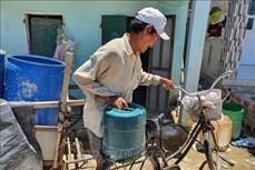 Vùng nông thôn Bình Định thiếu nước sinh hoạt mùa nắng nóng