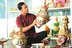 Nghệ nhân trẻ khát khao bảo tồn văn hóa Khmer