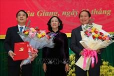 Ông Nghiêm Xuân Thành giữ chức Bí thư Tỉnh ủy Hậu Giang
