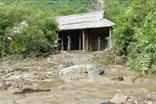 Hơn 20 ngôi nhà bị hư hại do mưa lớn ở Tuyên Quang