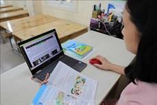 Năm học 2021-2022: Hướng dẫn thực hiện chương trình giáo dục Tiểu học ứng phó với dịch COVID-19