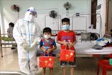 Hà Nội: Mang Tết Trung thu đến thiếu nhi có hoàn cảnh đặc biệt khó khăn