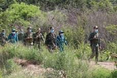 Bước chân thầm lặng trên tuyến đầu chống dịch COVID-19 ở vùng biên Bình Phước