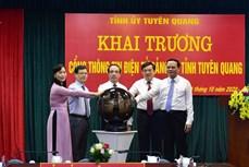 Khai trương Cổng thông tin điện tử Đảng bộ tỉnh Tuyên Quang