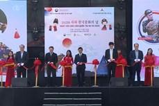 Đông đảo du khách tham gia Ngày văn hóa Hàn Quốc tại Sa Pa