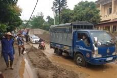 Mưa lũ gây thiệt hại về người và tài sản tại tỉnh Lào Cai