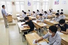 Kỳ thi tuyển sinh vào lớp 10 tại Hà Nội: Công tác phòng, chống dịch được thực hiện nghiêm túc ngay từ buổi thi đầu tiên
