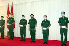 Tăng cường bộ đội biên phòng lên biên giới chống dịch COVID-19