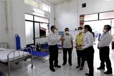Thành phố Hồ Chí Minh ra mắt Trạm y tế lưu động số 1 chăm sóc sức khỏe người mắc COVID-19 tại nhà