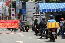 Dịch COVID-19: Thành phố Hồ Chí Minh tăng cường một số biện pháp phòng, chống dịch từ 0 giờ ngày 23/8